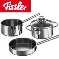 Fissler(フィスラー)snack setスナッキーセット08-316-03 (キャセロール・ソースパン・フライパンのセット/両手鍋)