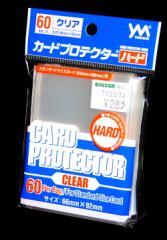 やのまん●カードプロテクター ハード【スタンダートサイズカード クリアー】60枚入り