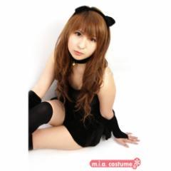 Reco ブラックキャットガール 色:黒 サイズ:M 【お取り寄せ】