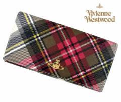 Vivienne Westwood ヴィヴィアンウエストウッド 長財布 ダービー EX タータンチェック 1032 DE EX