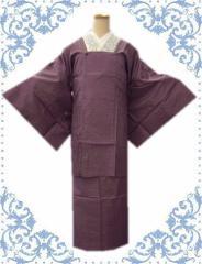 着物きもの雨の日も安心 お仕立上がり二部式和装雨コート紫