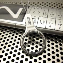 Hand Linker ベアリング携帯ストラップ/ホワイト