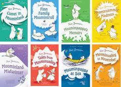 【送料無料】 洋書 Moomin(ムーミン・シリーズ) Paperback8冊セット