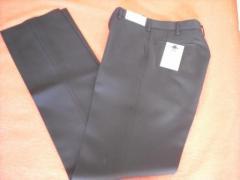 【全国標準型学生服】ズボン日本製スラックス W61〜85 すそ上げテープ付