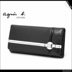 agnes b(アニエスべー) キーケース メンズ レディース ブラック SALE