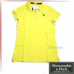 [あす着]Abercrombie & Fitch アバクロ レディース 半袖 ポロシャツ 5360003-098