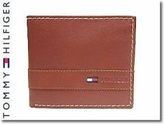 トミーヒルフィガー 財布 TOMMY HILFIGER メンズ 二つ折り財布 TAN 31TL25X019