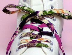 メール便 和柄靴ひも 柄多数ちりめん靴紐ロング おしゃれなメンズレディーススニーカーくつひも クツヒモ 日本製シューレース(色30L)