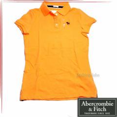 [あす着]Abercrombie & Fitch アバクロ レディース 半袖 ポロシャツ 5360003-070
