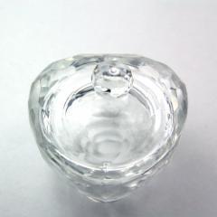 ダッペンディッシュ フタ付きハートMサイズガラス製