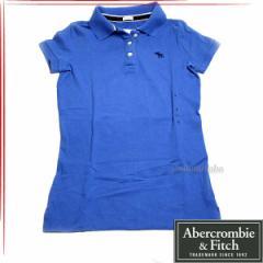 [あす着]Abercrombie & Fitch アバクロ レディース 半袖 ポロシャツ 5361762-20