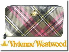 Vivienne Westwood ヴィヴィアン ウエストウッド ラウンドファスナー長財布 5140 DERBY NEW EXIBITION☆送料無料♪