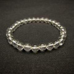 天然石6mmパワーストーンブレスレット(natural stone bracelet)/天然水晶