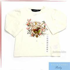[あす着]ポロ ラルフローレン/POLO RALPH LAUREN Tシャツ ロゴ 長袖 ベビー服370119650-012