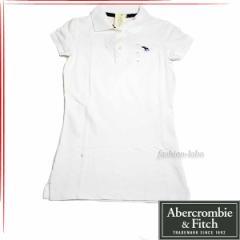 [あす着]Abercrombie & Fitch アバクロ レディース 半袖 ポロシャツ 5361762-01