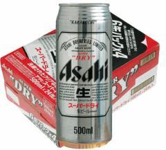 アサヒ スーパードライ500ml 24缶入り(1ケース)【アサヒビール】