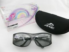 【40%OFF以上】 アックス AXE サングラス 偏光605P-SMケースセット 釣り メガネの上から アウトドア レジャー