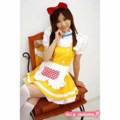 ■送料無料■即納!特価!在庫限り!■ネコ型メイド2 色:黄色 サイズ:M・BIG