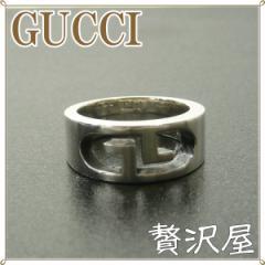 GUCCIグッチ 指輪 リング シルバー925 GG 133288-J89B0-1367