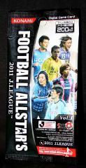 デジタルゲームカード フットボールオールスターズ【2011 J.LEAGUE Vol.1】1パック(2枚入)/コナミ★特価