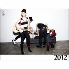 (10%割引)韓国スターグッズ SHINee(シャイニー)- 2012 Official Calendar 壁掛けカレンダー