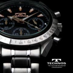 TECHNOS テクノス クロノグラフ 限定モデル メンズ 腕時計 T2111SP