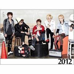 (10%割引)韓国スターグッズ SHINee(シャイニー)—2012 Official Calendar 卓上カレンダー