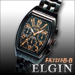 送料無料★ELGIN エルジン腕時計 エレガントクロノグラフウォッチ FK1215B-B■メンズ腕時計,男性用腕時計,プレゼント,ギフト