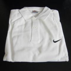 NIKE ナイキ ポロシャツ 白 サイズM 参考上代から約65%off 【po-1】 B品