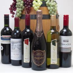 【第10弾福袋】ドンペリに勝った噂のロジャー グラート +ワインが5本セット!送料無料 お歳暮 クリスマス