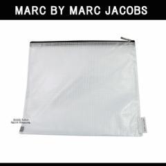 マークバイマークジェイコブス ケース 196279 BOOK MARC クリア ラージ ジップ ポーチ MARC BY MARC JACOBS ag-93800