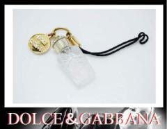 あす着 DOLCE&GABBANA ドルチェ&ガッバーナ ボトルモチーフ 携帯ストラップ ギフト プレゼント レディース メンズ