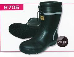 安全靴 安全長靴 ショートタイプ 9705 富士手袋工業【FUJITE】