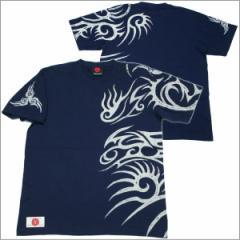 【NEW】【1】和柄Tシャツ「トライバル -spec 2-」