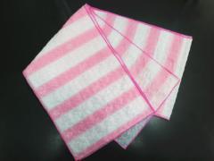 子供キッズ女の子浴衣ゆかたに♪簡単ふわっふわ兵児帯薄ピンクライン