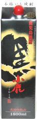 鹿児島焼酎 小鹿黒(こじかくろ) 25度 1800ml パック