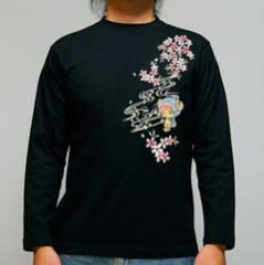 ワンピースコレクション 長袖Tシャツ 春風チョッパー