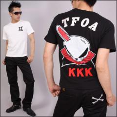 クローズ×WORST[デスラビット]半袖Tシャツ(CR-071)CROWS ワースト 武装戦線 TFOA KKK メンズ 送料無料