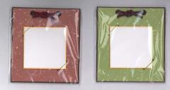豆色紙掛(豆色紙付) 金銀振揉 シンプルでかわいい豆色紙(76×76)掛けです。