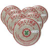 雲南 七子餅茶 300g x 7枚(超徳用) 【送料無料/発酵茶/中国産】