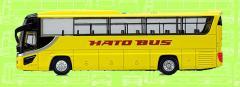 フェイスフルバス 1/80 ダイキャストスケールモデル【No.02 はとバス】トレーン