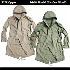 メンズ/ジャケット ミリタリー/軍物 USタイプ/M-51 フィールドパーカー 米軍タイプ/モッズパーカー カーキ/オリーブ