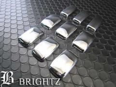 BRIGHTZ ハイエース 200 ワイド メッキウィンドウリテーナーカバー バン ワゴン 【 TI-620 】 ウィンドウィンドー窓サイドフレーム