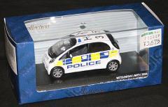 KYOSHO京商●1/43 J-collection Jコレクション【MITSUBISHI i-MiEV West Midlands Police Car 2009】JC59008MP★特価