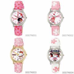 【送料無料】シチズン Q&Q Hello Kitty ハローキティウォッチ JAPANモデル 0007Nシリーズ(和柄)★大人気の 腕時計 レディース 女性