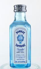 ドライジン ボンベイサファイヤ ミニチュアボトル 50ml  スピリッツ