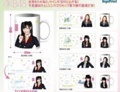 セガ AKB48 チェンジングマグカップ VOL.3 渡辺麻友 板野友美 梅田彩佳 北原里英 峯岸みなみ 前5種 (サインが浮かび上がる)