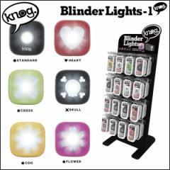 """knog ノグ """"BLINDER 1"""" 自転車 ライト LED USB充電"""