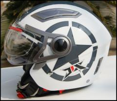 バイクヘルメット  ジェット  男女共用ヘルメット  多色選択  春、夏、秋、冬 PSC付き JIX 送料無料