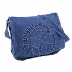 ハンティングワールド HUNTING WORLD バッグ 鞄 ショルダーバック DSM131 BLU インディゴブルー